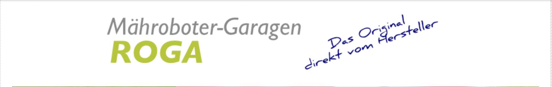 Roga - Mähroboter-Garagen - Das Original